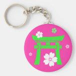 Torii (green & pink)