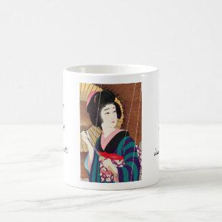 Torii Kotondo Twelve Aspects of Women, Rain Classic White Coffee Mug