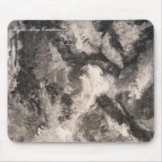 tormenta monocromatica mouse pad