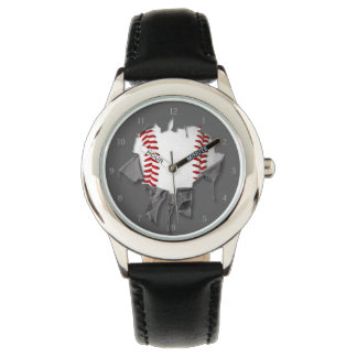 Torn Baseball Watch
