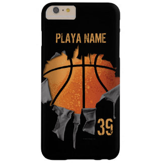 Torn Basketball Barely There iPhone 6 Plus Case