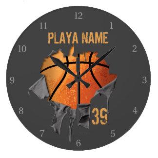 Torn Basketball Clocks