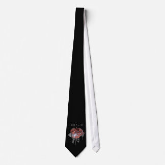 Torn Brick Wall Goalie (Hockey) Tie