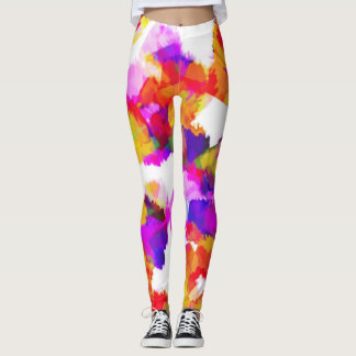 Torn Colours Leggings