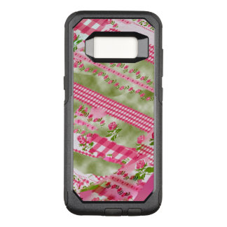 Torn Floral Wallpaper Abstract Art OtterBox Commuter Samsung Galaxy S8 Case