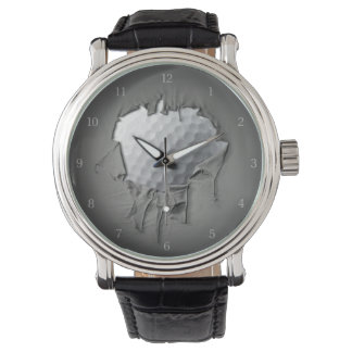 Torn Golf Ball Watch