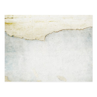 torn paper on wall background blue post cards