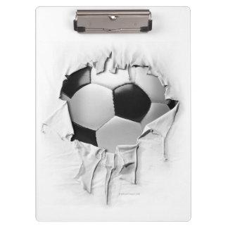 Torn Soccer Clipboard