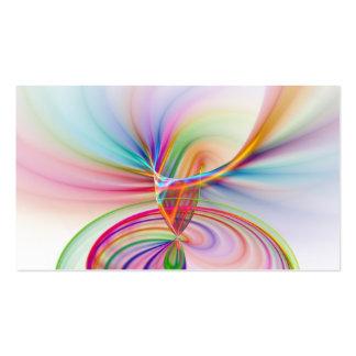 Tornadic Rainbow Pack Of Standard Business Cards