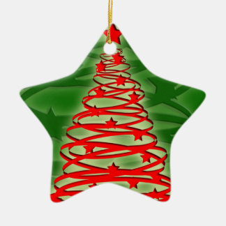 Tornado Christmas Tree Ornament
