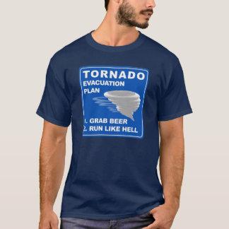 Tornado Evacuation Plan T-Shirt