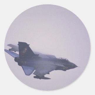 Tornado GRI, RAF bomber Round Sticker