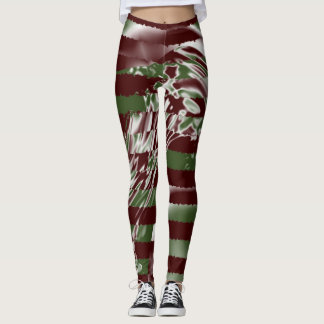 Tornado Jailbreak Multicolor Stripes Leggings