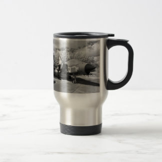 tornado jet aircraft travel mug