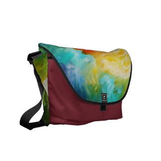 tornado, spiritual power source, abstract commuter bag