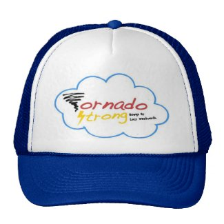 Tornado Strong logo trucker hat
