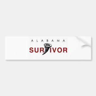 Tornado Survivor Bumper Sticker