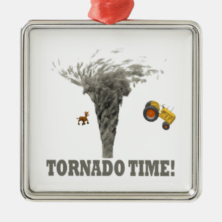 TORNADO TIME CHRISTMAS ORNAMENT