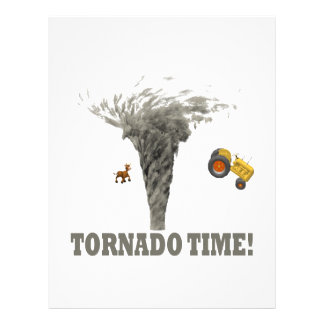 TORNADO TIME PERSONALIZED FLYER