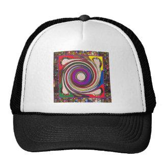 Tornado Whirlwind HighTide Waves colorful art Cap