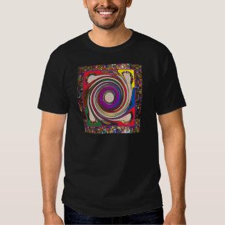 Tornado Whirlwind HighTide Waves colorful art T Shirts