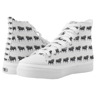 Toro Black Bull Customizable High Top Sneakers