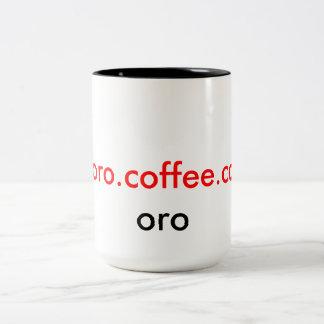 Toro Coffee Co. Upscale Oro Mug Coffee Mug