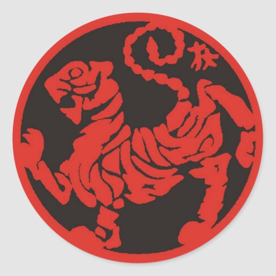 Toro_red Classic Round Sticker