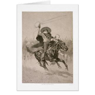 Toro, Toro by Frederic Remington  Card