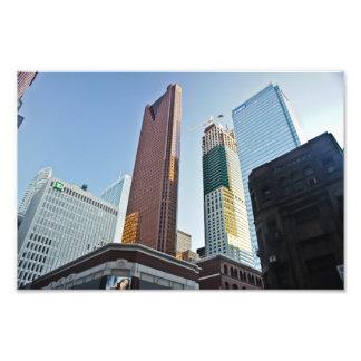 Toronto architecture skyline photo