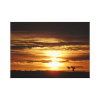 Toronto Beaches Sunrise Canvas Print