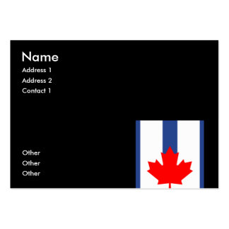 TORONTO LARGE BUSINESS CARDS (Pack OF 100)