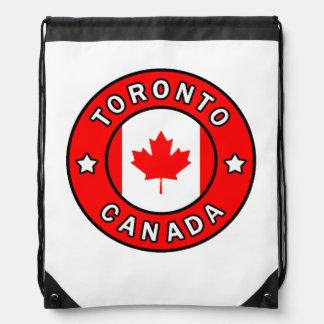 Toronto Canada Drawstring Bag