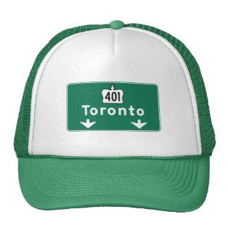 Toronto, Canada Road Sign Cap