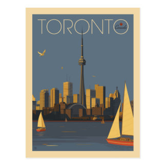 Toronto Canada  | Save the Date Postcard