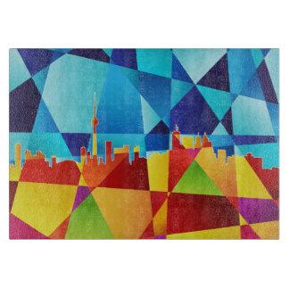 Toronto Canada Skyline Cityscape Cutting Board