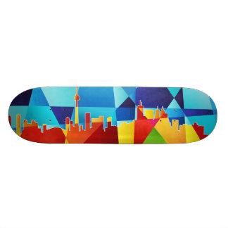 Toronto Canada Skyline Cityscape Custom Skateboard