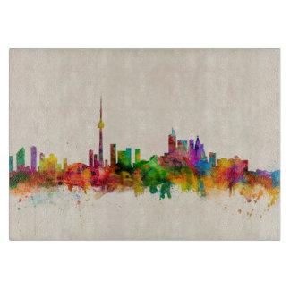 Toronto Canada Skyline Cutting Board