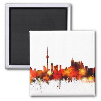 Toronto Canada Skyline Magnet