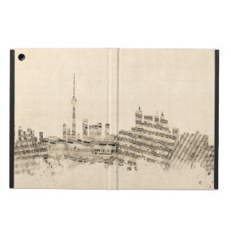 Toronto Canada Skyline Sheet Music Cityscape Cover For iPad Air