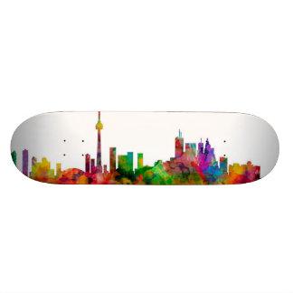 Toronto Canada Skyline Skateboard