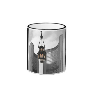 Toronto City Hall  with a Chandelier Ringer Mug