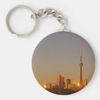 Toronto Cityscape Keychain