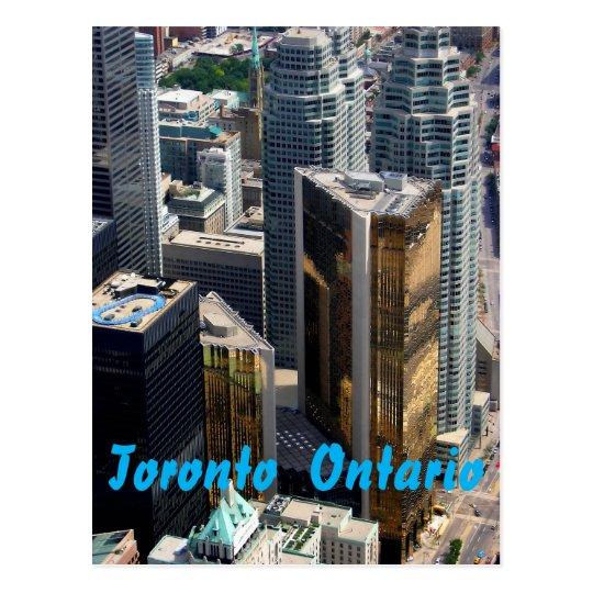 Toronto Downtown Postcard Postcard