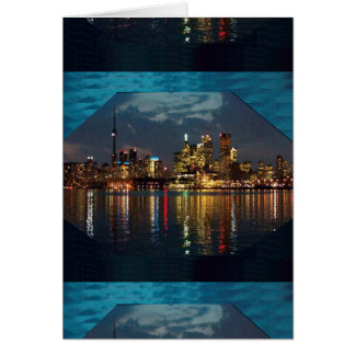 Toronto DownTown Spectacle CNTower Waterfront fun Greeting Card