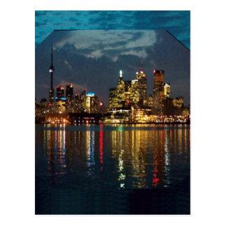 Toronto DownTown Spectacle CNTower Waterfront fun Postcard