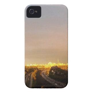 TORONTO East Horizon: VIEW form QUEENSWAY West iPhone 4 Case-Mate Cases