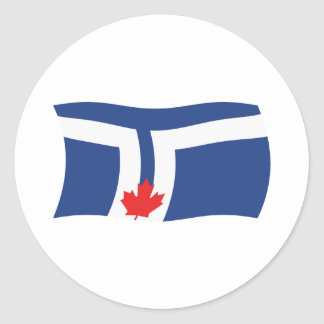 Toronto Flag Sticker