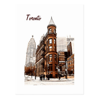 Toronto - flat iron building postcard