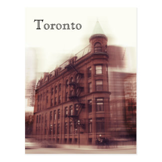 Toronto Flat Iron gooderham and worts building Postcard